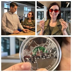 CANADIAN INSTITUTE FOR THE BLIND COIN DESIGNER