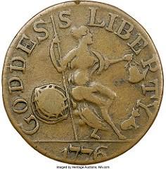 THE 1776 JANUS COPPER