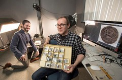 RUTGERS DIGITIZES ROMAN COIN COLLECTION