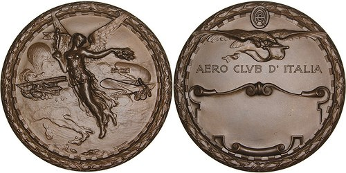 MEDALS FROM NUMISMAGRAM: PLANES AND TRAINS
