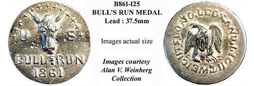 THE BULL'S RUN SATIRICAL MEDAL