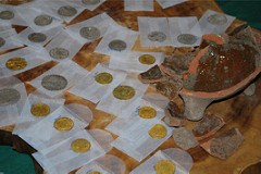 NETHERLANDS WORKERS UNCOVER COIN HOARD
