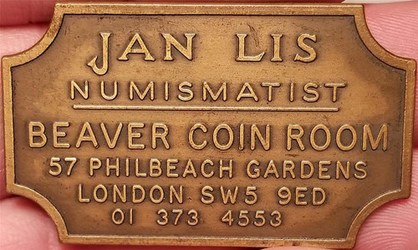 NUMISMATIST JAN LIS AND THE BEAVER COIN ROOM