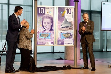 BANKNOTE FEATURES CANADIAN HUMAN RIGHTS MUSEUM