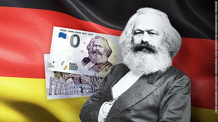 KARL MARX €0 BILLS ARE RED HOT