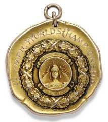 1904 OLYMPIC GOLD MEDAL FOR BASKETBALL