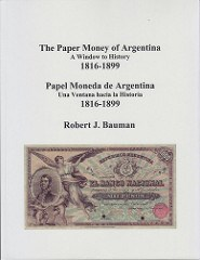 NEW BOOK: THE PAPER MONEY OF ARGENTINA
