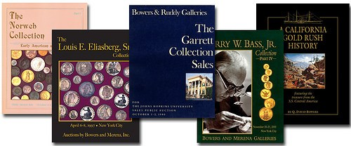 BOWERS ON THE GREAT COLLECTIONS CATALOGS