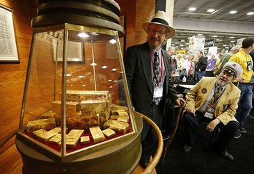 SHIP OF GOLD EXHIBIT AT NRA CONVENTION