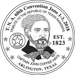 TEXAS MEDAL FEATURES CAPTAIN JOHN C. HAYS