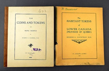 COURTEAU CANADIAN TOKEN PAMPHLETS OFFERED