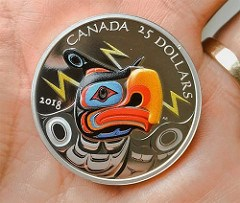 CANADA'S THUNDERBIRD COIN
