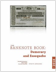 NEW BOOKS: IRELAND, DEMERARY, ESSEQUEBO BANKNOTES