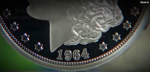 VIDEO: 1964 MORGAN DOLLAR AD