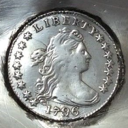 1796 COIN LADLE