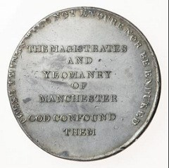 THE PETERLOO MASSACRE MEDAL