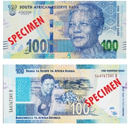 SOUTH AFRICA ISSUES MANDELA COINS AND BANKNOTES