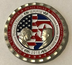 THE 2018 KOREA SUMMIT CHALLENGE COINS