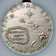 THE MISSPELLED HAWAII STATEHOOD MEDALS