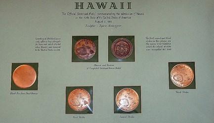 THE MISSPELLED HAWAII STATEHOOD MEDALS