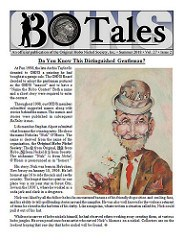 NEW PERIODICAL: SUMMER 2018 BO TALES