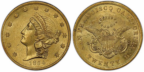 TERRITORIAL GOLD COINS ON THE SS CENTRAL AMERICA