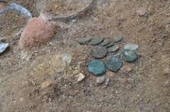 ROMAN COINS FOUND AT VULCI