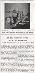 BEARDLESS BREEN ON RADIO WITH 1943 BRONZE CENT