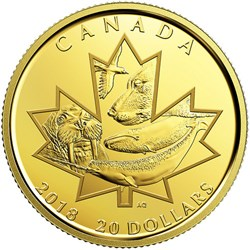 CANADIAN MINT ISSUES NUNAVUT GOLD COIN