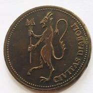 HOAX 'DEVIL COINS' FOUND AT BATH ABBEY