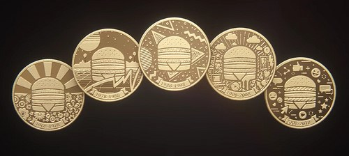 MCDONALD?S ISSUES 50TH ANNIVERSARY BIG MAC COINS