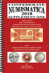 NEW BOOK: CONFEDERATE NUMISMATICA SUPPLEMENT ONE