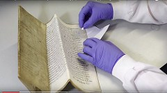 DISCOVERING DNA IN OLD BOOKS