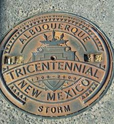 MANHOLE COVERS AS NUMISMATIC OBJECTS