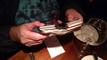 THE INCREDIBLE SHRINKING WALLET