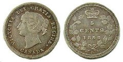 CANADIAN FIVE CENT TERMS: FIPPENCE, FIPPENNY