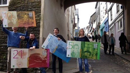 ALTERNATE CURRENCY TOTNES POUND DISCONTINUED
