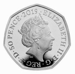 NEW STEPHEN HAWKING 50-PENCE COIN