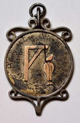 HENRY MCGEE HANGING MEDAL
