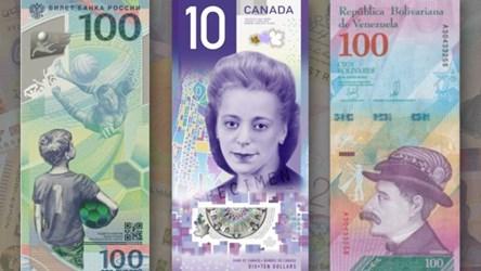 CANADA'S VIOLA DESMOND BANKNOTE OF THE YEAR
