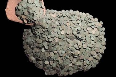 LINCOLNSHIRE 4TH CENTURY ROMAN COIN HOARD