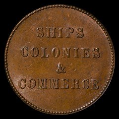 NEW BOOK: SHIPS, COLONIES & COMMERCE TOKENS