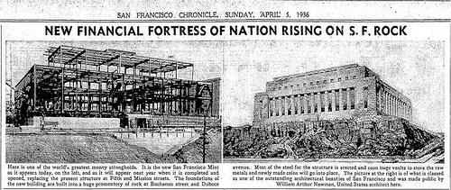 BUILDING THE NEW SAN FRANCISCO MINT