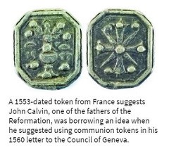 COMMUNION TOKENS, PART ONE