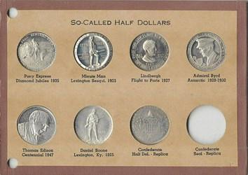 NATIONAL SO-CALLED HALF DOLLAR HOLDERS