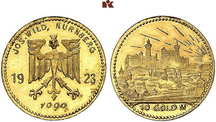 THE COINS OF JOSEF WILD