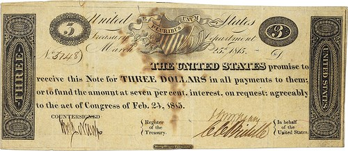 NEW BOOK: TREASURY NOTES OF THE WAR OF 1812