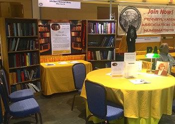 BURNS LIBRARY AT THE ANA NATIONAL MONEY SHOW