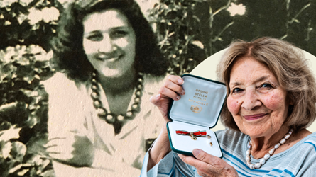 STAR OF ITALY FOR WOMAN WHO FOOLED NAZIS