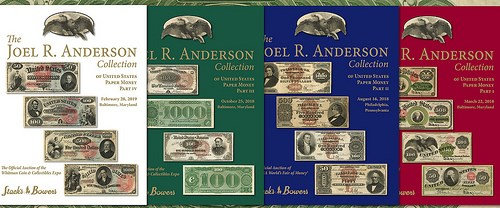 JOEL. R. ANDERSON COLLECTION RESULTS